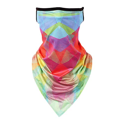 TIZUPI Face scarf for Men's Women's Cycling Windproof Outdoor Headwear Bandana Sports Anti-UV Running Hiking Riding
