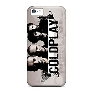 Great Hard Cell-phone Case For Iphone 5c With Provide Private Custom Nice Coldplay Band Image InesWeldon