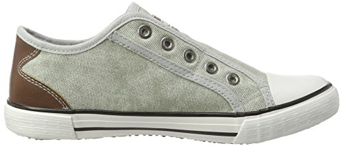 Rieker Damen M2270 Sneakers Grau (shark/brown / 40)