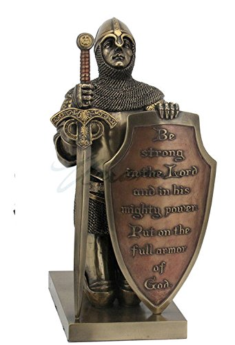 Put On The Whole Armor Of God Statue