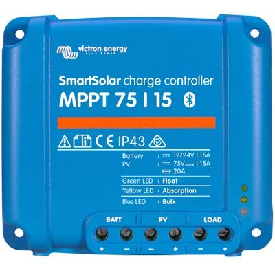 Victron SmartSolar Charge Controller with Built-In Bluetooth - MPPT 75/15 - 75...