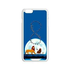 Lion King Forest Cartoon WhiteiPhone 6 case