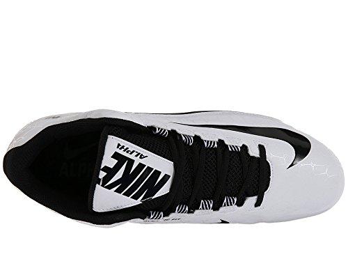 Nike Herren Alpha Strike 2 Dreiviertel Fußballschuh Zebra