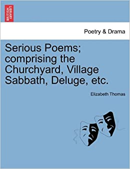 Book Serious Poems: comprising the Churchyard, Village Sabbath, Deluge, etc.