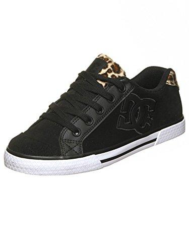 DC Damen Chelsea Se J Shoe Sneakers Schwarz (Animal)