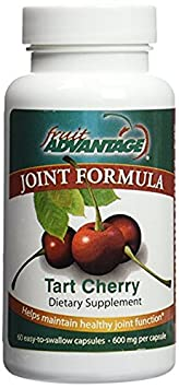 Fruit Advantage Montmorency Tart Cherry Capsules Joint Formula 1200 mg per Serving – 60 Vegitarian Capsules Case of 12