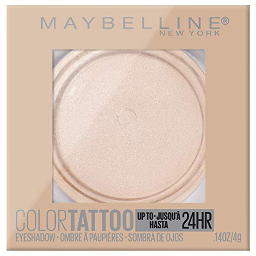 Maybelline New York Color Tattoo 24 Hour Longwear Cream Eyeshadow Makeup, Front Runner, 0.14 Ounce (Runners Shadow)