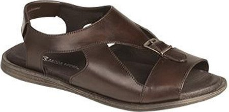 Bacco Bucci Men's Hagen Sandal,Dark Brown Calf Leather,US 11 (6408 Leather)