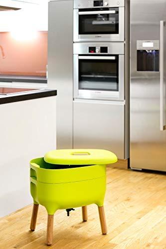 Compostador de diseño, compostador de gusano: Amazon.es: Bricolaje ...