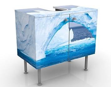 Diseño Lavabo Antarktischer Eisberg 60 x 55 x 35 cm Polo Sur ...