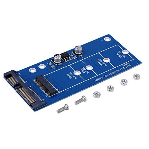 Lironheel M2 NGFF ssd SATA3 SSDs Turn Sata Adapter Expansion Card Adapter SATA to NGFF High-Capacity - Hard Time Disk Seek