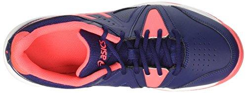 Asics Gel-Gamepoint, Zapatillas de Tenis para Mujer Azul (Indigo Blue/diva Pink/white)