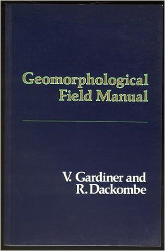Geomorphological Field Manual
