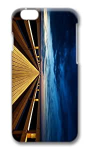 MOKSHOP Adorable Endless Wooden Bridge Hard Case Protective Shell Cell Phone Cover For Apple Iphone 6 (4.7 Inch) - PC 3D