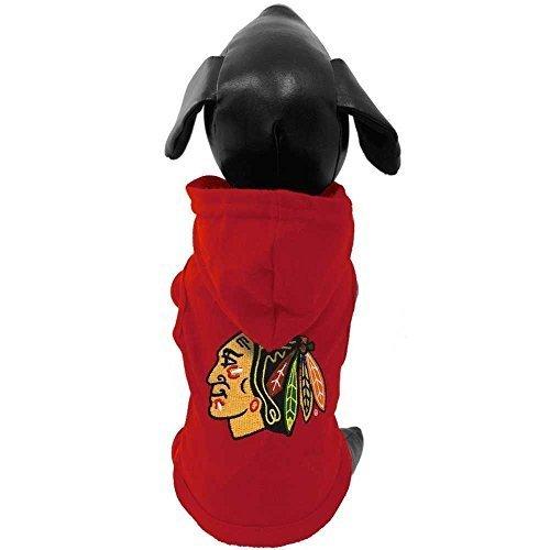 All Star Dogs Chicago Blackhawks Pet Sports Hoodie, Medium