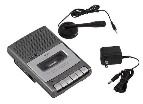"""RCA RP3503 """"Shoebox"""" Cassette Voice Recorder"""