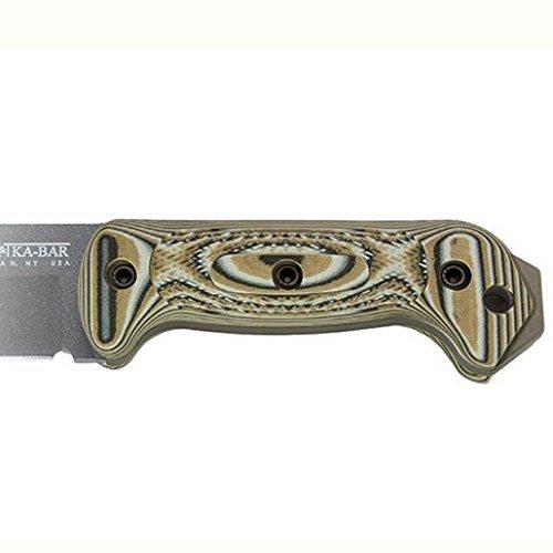 Becker Aluminum Handles - KA-BAR KNIVES Becker G10 Handle Set