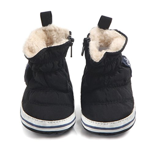 Infant Baby Boy Autumn Winter Boots Soft Sole First Walker C