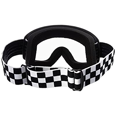 Biltwell (M2CHKBKWT) Script Checkers Moto 2.0 Goggles (Black/White, One Size Fits Most): Automotive