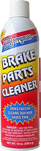 Berryman 1420 Brake Parts Cleaner, Not VOC Compliant in CA and NJ, 19 oz.
