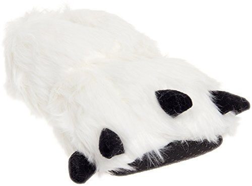 Furry Costume Ideas (Silver Lilly Bear Paw Animal Slippers (White, X-large))