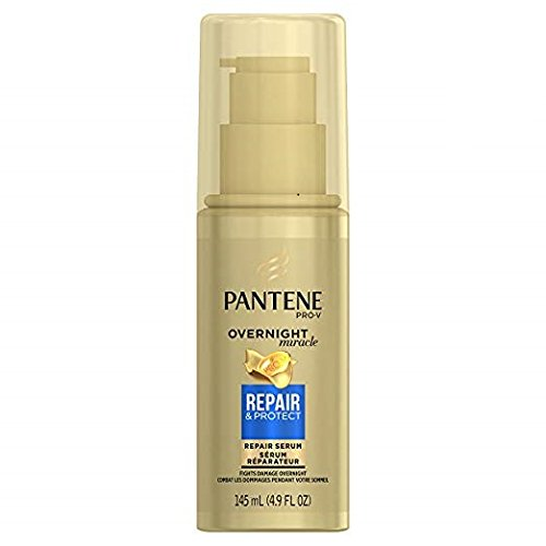 Pantene Pro-V Overnight Miracle Repair Serum, 4.9 oz, 2 Pack