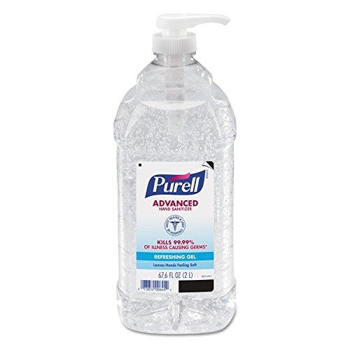 PURELL 962504CT Advanced Instant Hand Sanitizer, 2-liter Bot