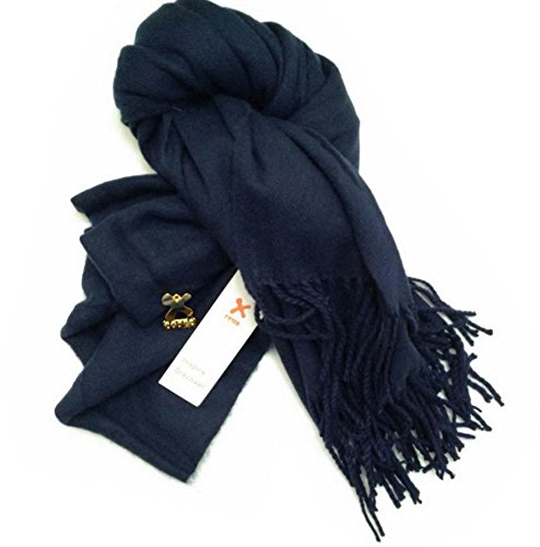 Sherlock Holmes Scarf Long Blue Wool Replica Sherlock Muffler Cosplay Costume Accessories