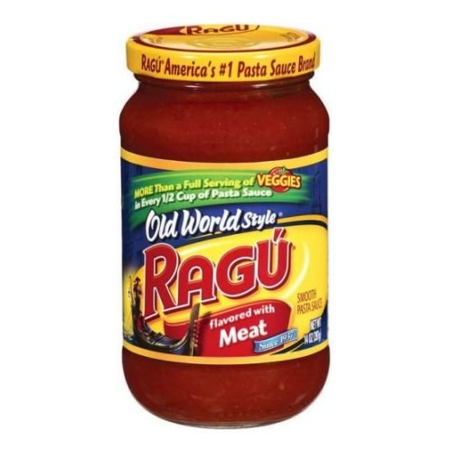 Ragu Old World Style Meat Pasta Sauce 14 oz (Pack of 12) Pack (Pack of 12)