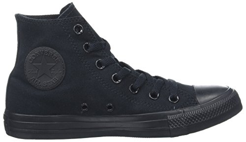 Unisex M3310 Black Top Hi Converse Mono Black Adult Sneakers dwYRxdfq