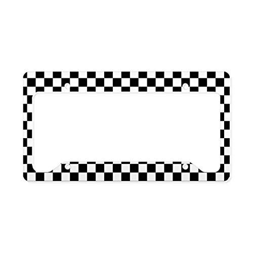 CafePress Racing Aluminum License Plate Frame, License Tag Holder