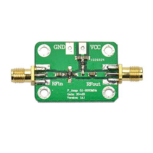 Amplifier Broadband Signal (AOSHIKE DC 6-12V 0.1-2000MHz Low Noise LNA Broadband RF Receiver Amplifier Signal Amplifier Module Gain 30dB)