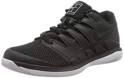 Nike Men's Zoom Vapor X Tennis Shoes (10 D(M) US, Black/Black/Vast -