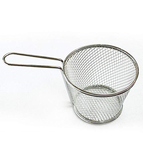 Papas fritas Mini cestas para freír Cesta de freidora de acero ...