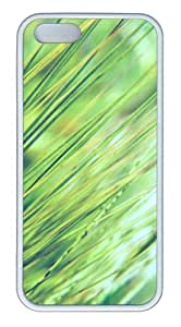 iPhone 5S Customized Unique Landscape Flowers Grass Macro Iii New Fashion TPU White iPhone 5/5S Cases