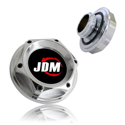 Honda Acura Aluminum Engine Oil Cap Chrome