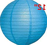 Mikash 12X Round Chinese Paper Lanterns lamp 12 Wedding Party Floral Event Decoration   Model WDDNGDCRTN - 25492   with Light