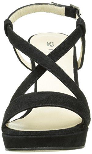 STUDIO PALOMA 19826 - Sandalias de vestir Mujer Negro - Noir (Ante Negro)