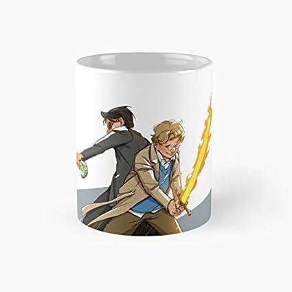 Amazon com   Good Omens Mug, good omens Funny Mugs, 11 Ounce Ceramic