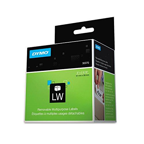 DYMO Multipurpose Labels, 2 x 2 5/16, White, 250/Box (Dymo White Multi Purpose Label)
