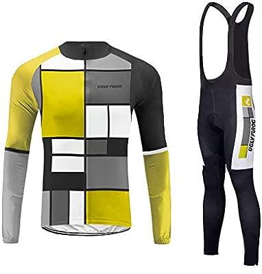 BurningBikewear Uglyfrog Maillot Conjunto Ciclismo Culotte ...