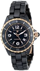 Swiss Legend Women's 10049-BKBRA Karamica Analog Display Swiss Quartz Black Watch