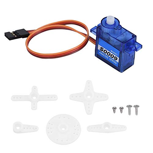 Part & Accessories CYS-S0009 Plastic Gear Analog Servo 4.8-6V for Remote Control Airplane Car Boat RC Part Plastic + PCB RC Model Vehicle Parts