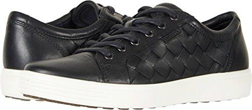 ECCO Men's Soft 7 Woven Tie Fashion Sneaker, Black, 44 EU/10-10.5 M US ()