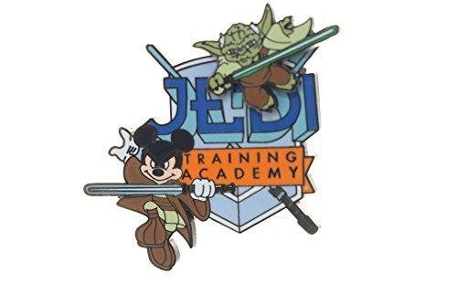 Training Disney Jedi (Disney Jedi Training Academy - Logo with Jedi Mickey and Yoda Pin)