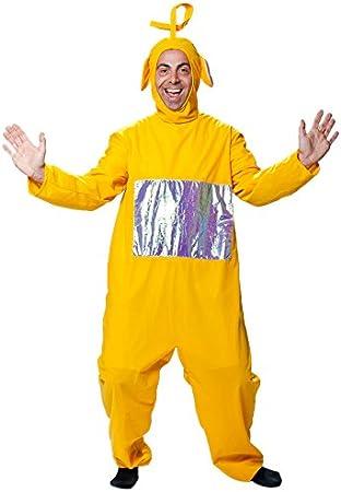 Joker j506 – 001 Teletubbies Laa-Laa adulto disfraz de carnaval ...