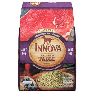 Innova Nature's Table Grain Free Bison & Green Lentils - 25lb
