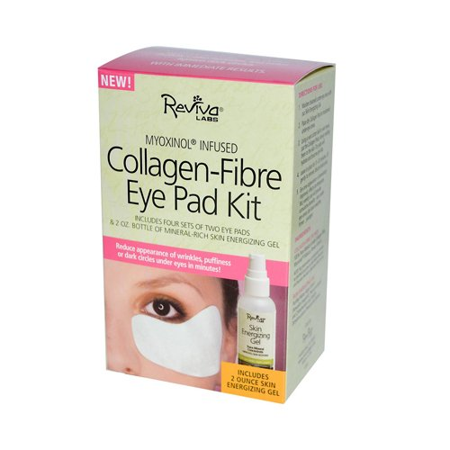 Reviva Labs Collagen-Fibre Eye Pad Kit 2 Pads - 2 oz