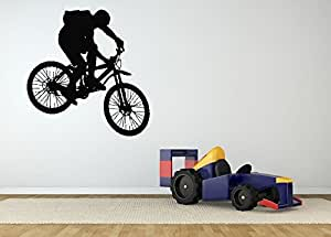 Wall room decor art vinyl sticker mural decal for 70 bike decoration