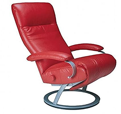 Ordinaire Kiri Recliner Cherry Red Leather Swivel Recliner Lafer Recliner Chairs
